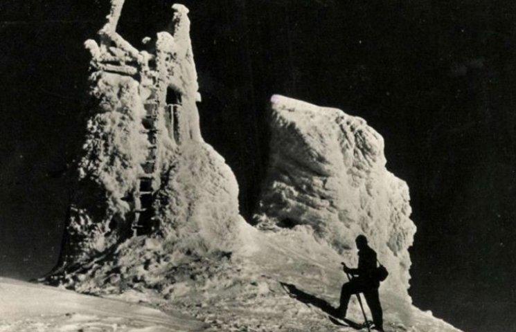 Ретро світлини зимової гори Піп Іван захоплюють і розчулюють