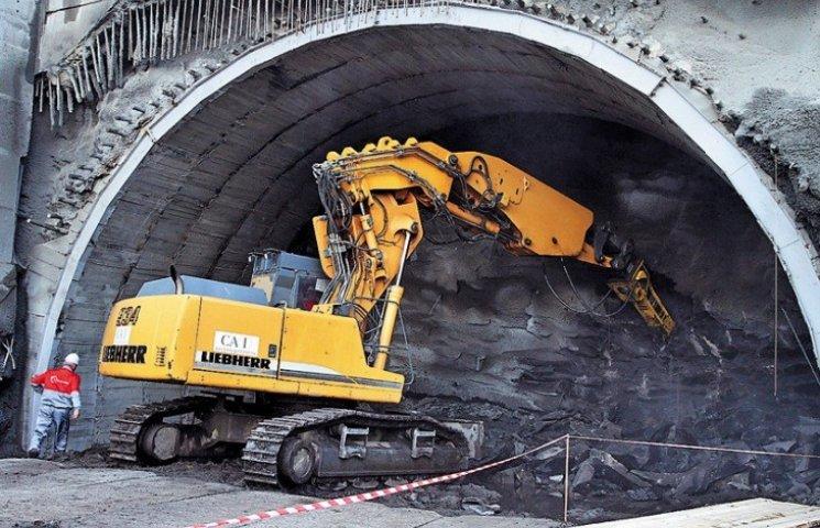 Перший етап будівництва Бескидського тунелю урочисто завершать 21 січня