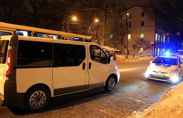 """Поліція з погонею затримала активістів """"Самооборони"""" в Одесі"""