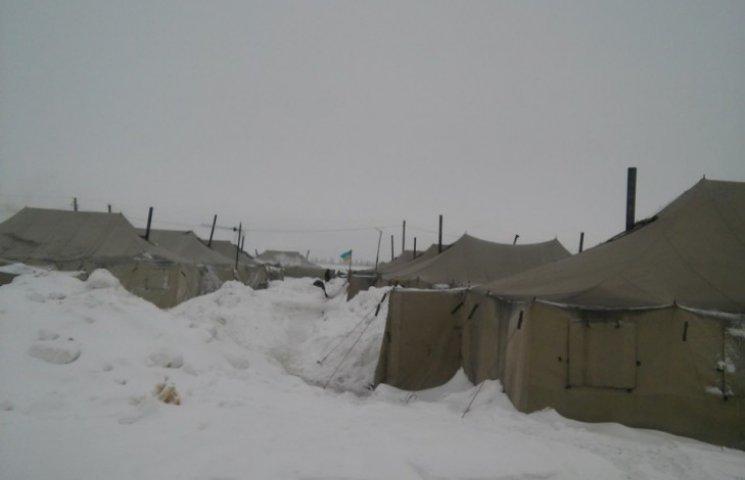 Бійці 128-ї бригади влаштували фотоекскурсію наметовим містечком