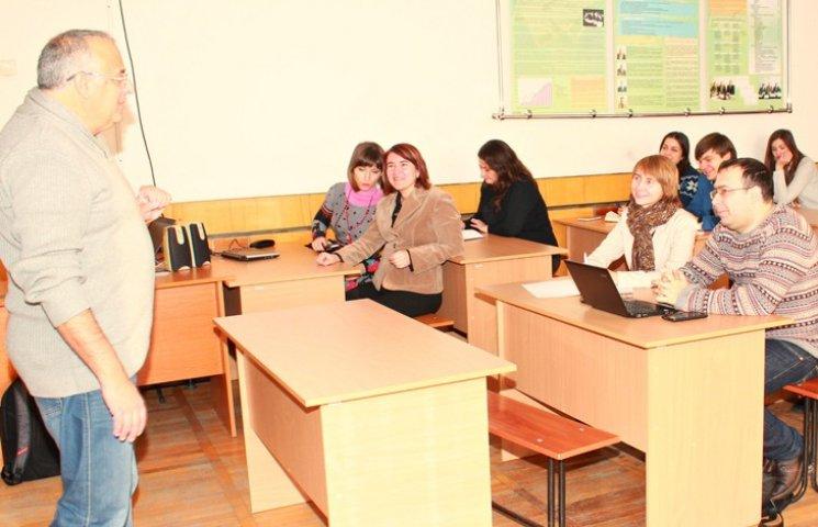 Науковці з Ізраїлю прочитали лекції сумським студентам