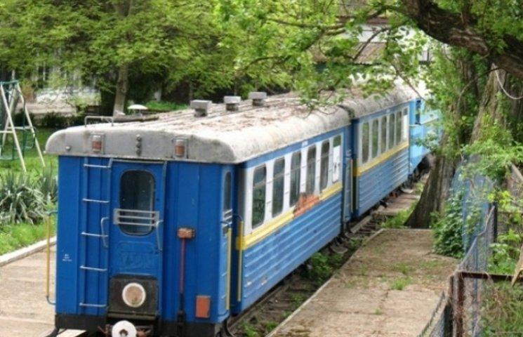 """Москаль """"благословив"""" зрушення дитячої залізниці в Ужгороді з мертвої точки"""