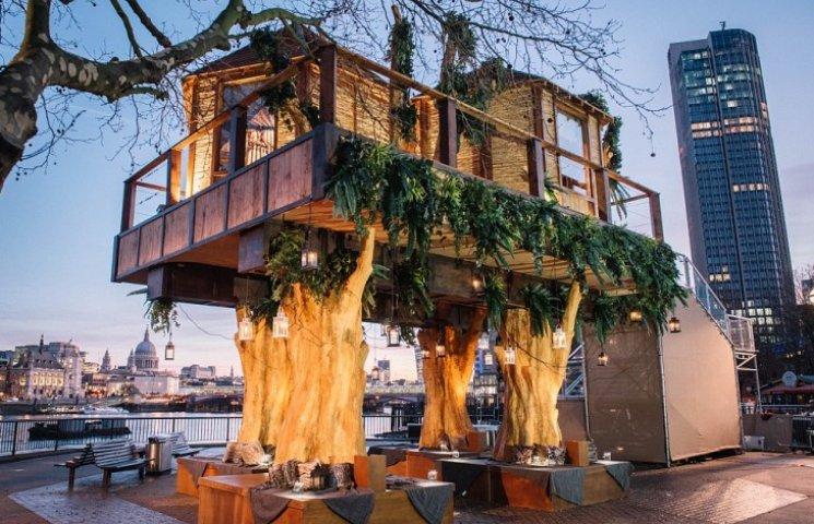 Как выглядит дом на дереве в стиле джунглей посреди Лондона