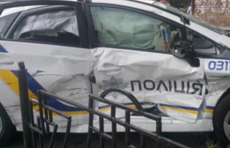 Закарпатську поліцію звинуватили у приховуванні ДТП за участю колег