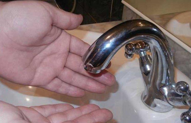 Наступну ніч Курський мікрорайон проведе без водопостачання
