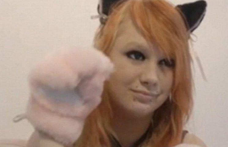 Как выглядит норвежская девушка, которая утверждает, что родилась кошкой
