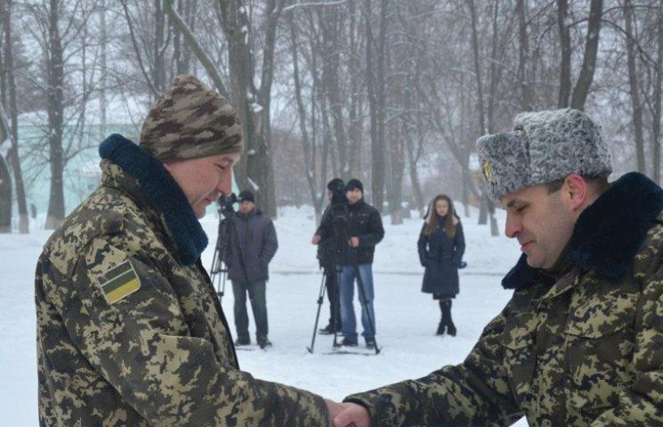 Бойовий підрозділ сумських прикордонників повернувся з АТО