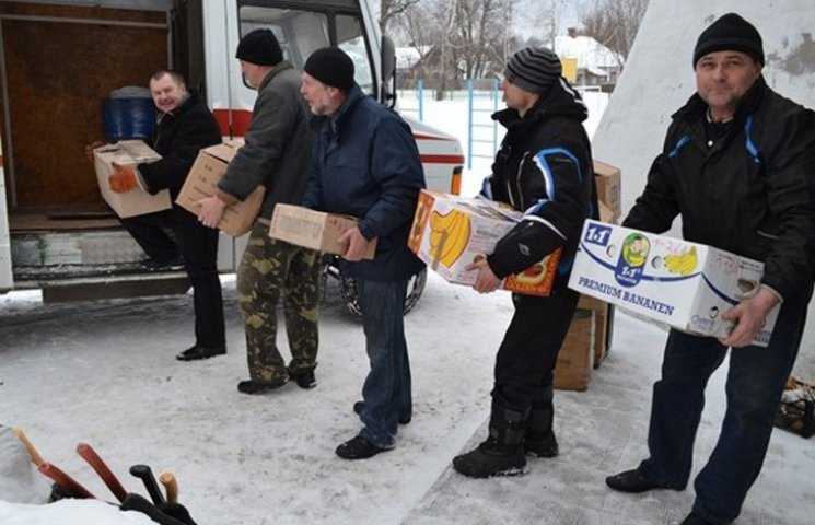 """""""Волонтери Лебединщини"""" відправили в зону АТО гуманітарний вантаж"""