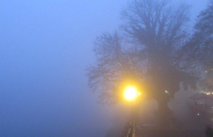 Ужгород у тумані: 50 відтінків сірого