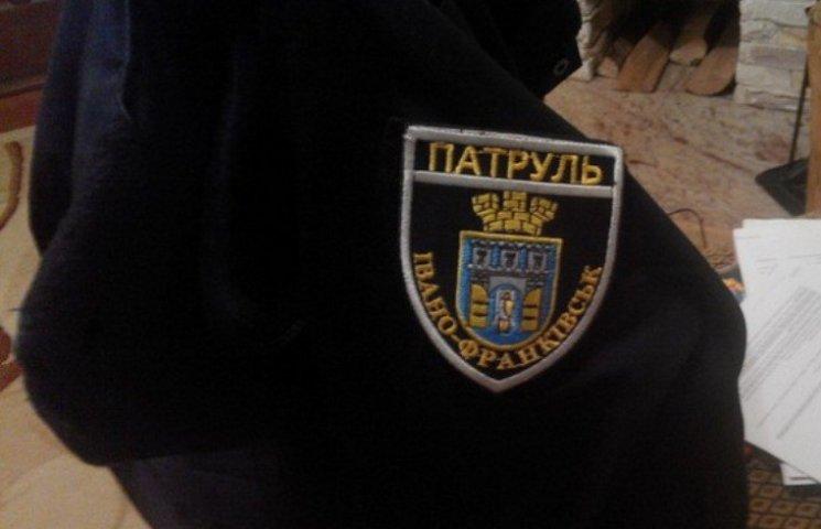 Як виглядає шеврон патрульних Івано-Франківська
