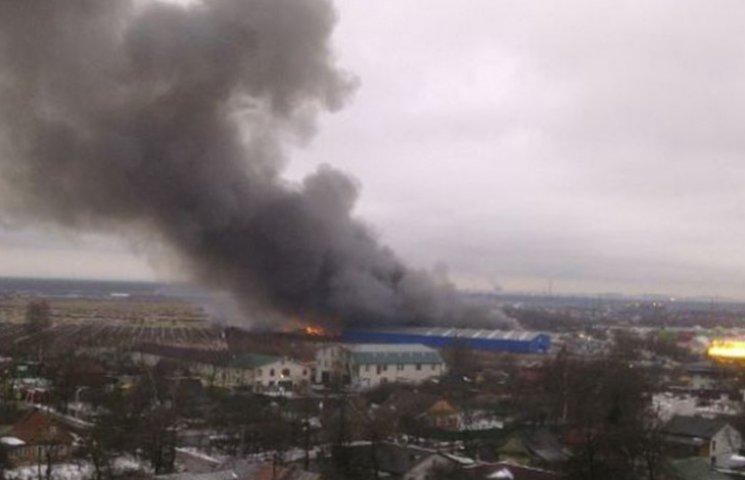 Як палають харчі під Санкт-Петербургом