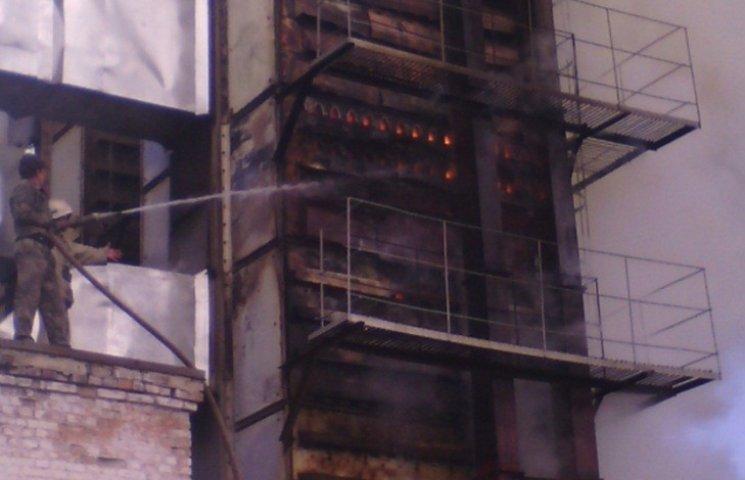 На Кропивниччині спалахнув елеватор