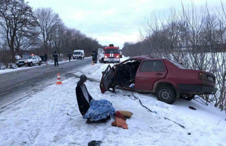 В Полтавском районе ДТП: Водитель погиб на месте, пассажирка - в больнице