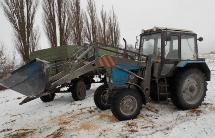 На Полтавщине задержали автомобиль с незаконной древесиной