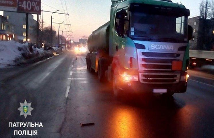 В Полтаве водитель маршрутки совершил ДТП и скрылся с места происшествия