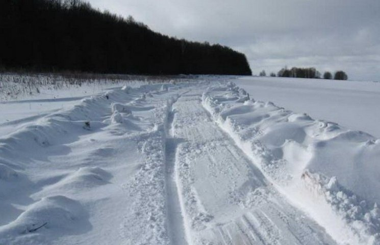 На Днепропетровщине закрыли трассы