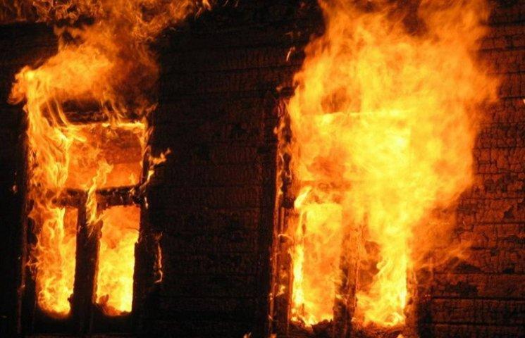 На Полтавщині у власному домі згорів чоловік