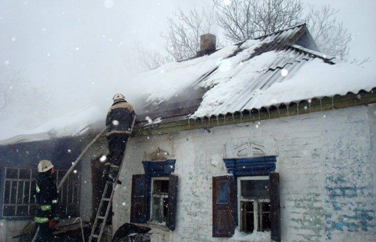 На Полтавщине в собственном доме сгорела 90-летняя бабушка
