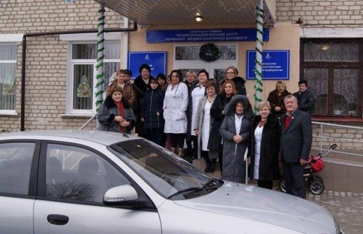 Лікарі Вознесенської амбулаторії їздитимуть на новенькому авто