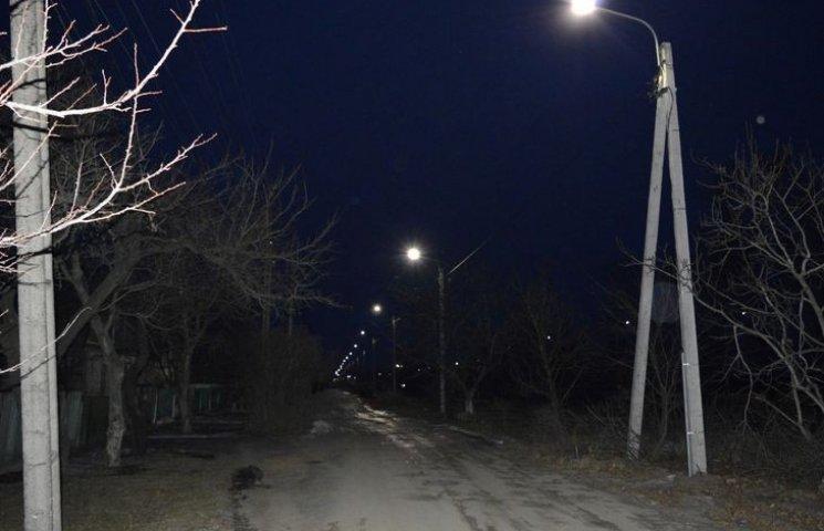 Мэр Горишних Плавней потратил более миллиона гривен на современное освещение