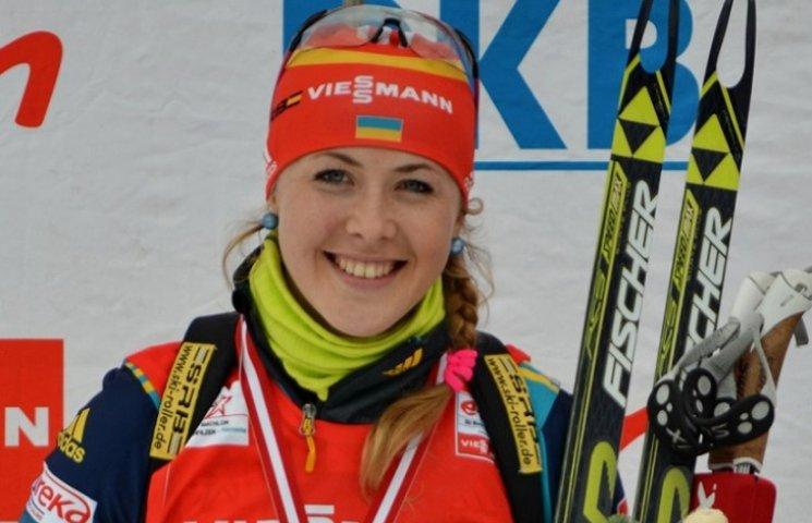Сумська біатлоністка Юлія Джима піднялася у світовому рейтингу