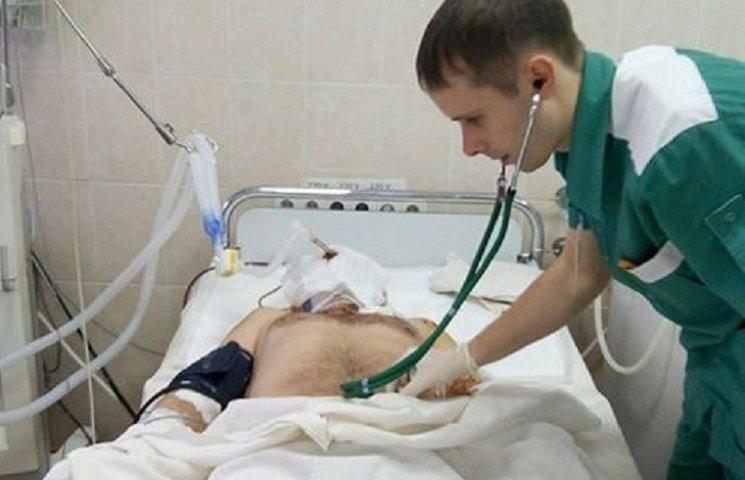 Врачи спасли жизнь бердянского бойца, которого после взрыва не узнала мать