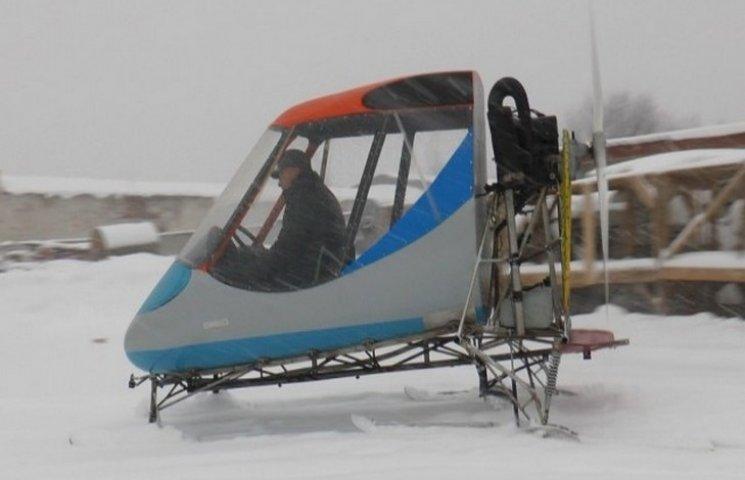 Полтавський винахідник розповів про свій диво-транспорт – аеросани