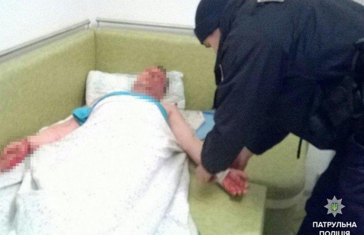 В Одесі поліцейські врятували чоловіка від самогубства