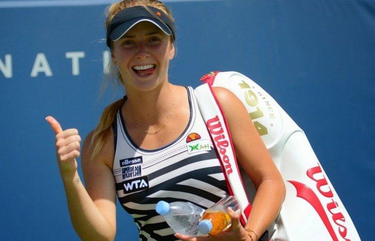 Одеська тенісистка Світоліна вдало стартувала в новому сезоні Великого шолому