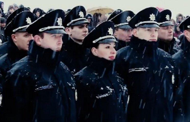 У Дніпрі зняли відеоролик до першої річниці створення патрульної поліції