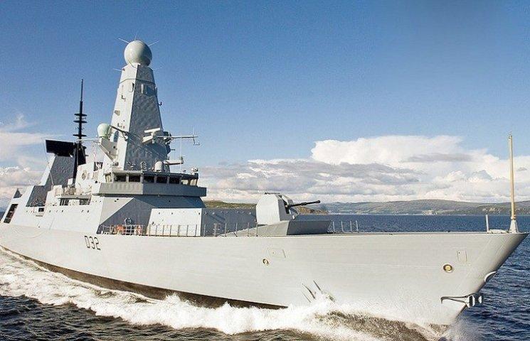 Новітній есмінець ВМС Великобританії зайде в порт Одеси (ФОТО; ВІДЕО)