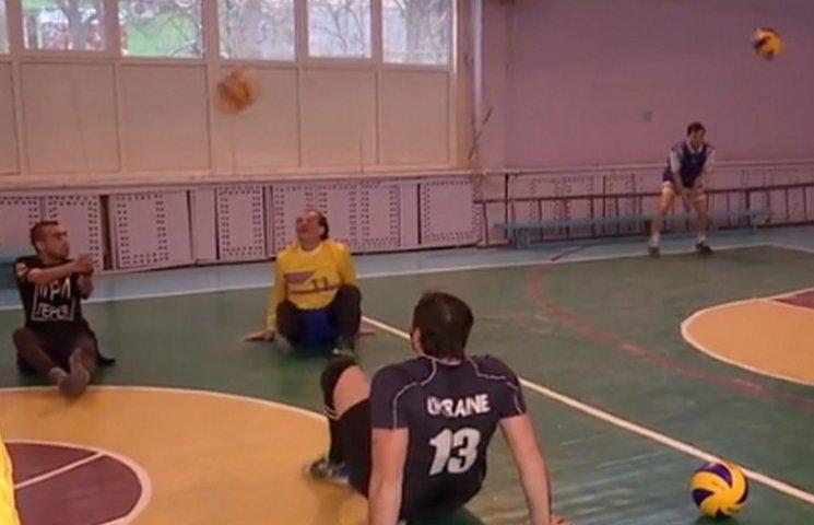 У Дніпрі АТОшники з ампутаціями збирають волейбольну команду
