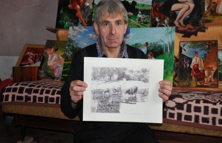 На виставці у Києві були представлені малюнки буковинця