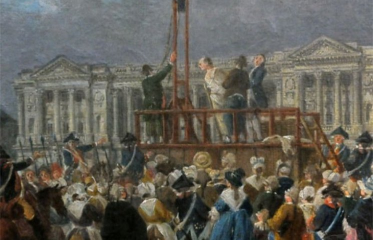 french revolution guillotine