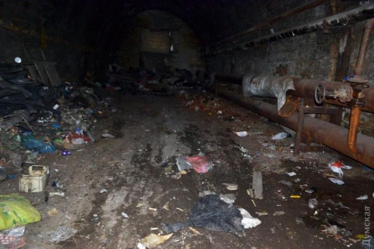 В Одесі знайшли людські рештки біля Потьомкінських сходів