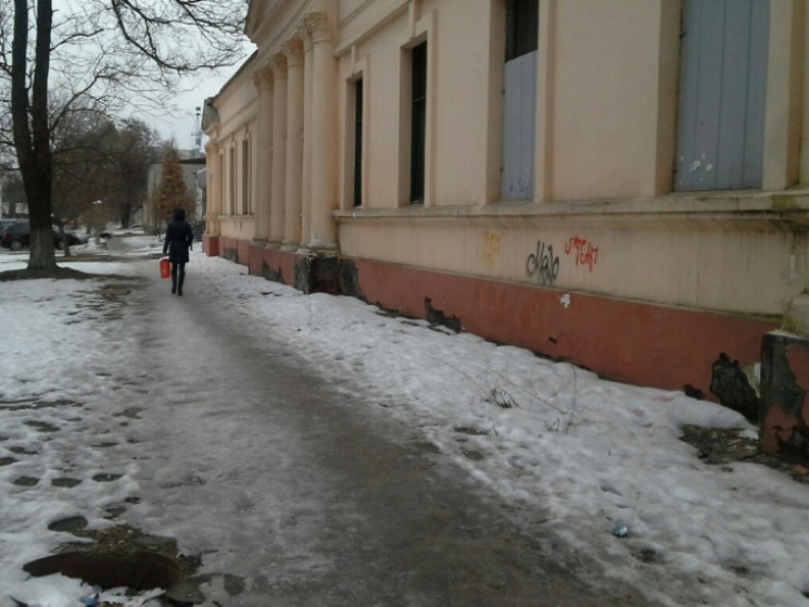 Падайте на здоровье: Когда в Николаеве исчезнут ледяные тротуары
