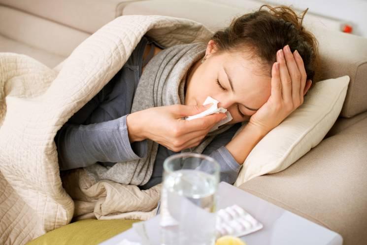 ВКиеве зафиксировано снижение заболеваемости гриппом иОРВИ практически на10%
