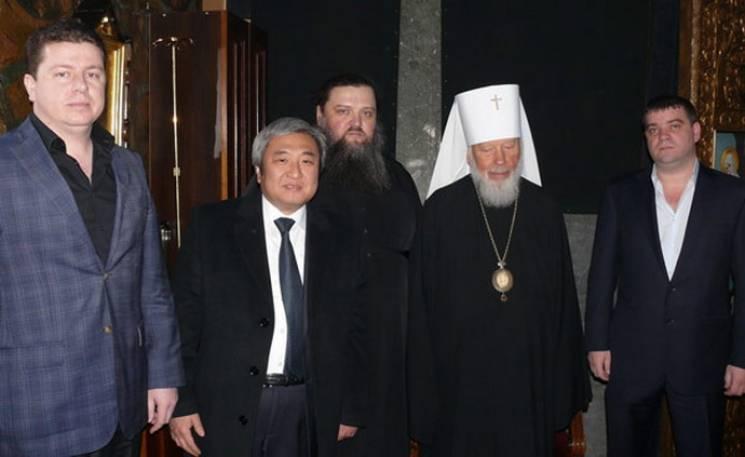 Лука - в центре, Анисимов - справа