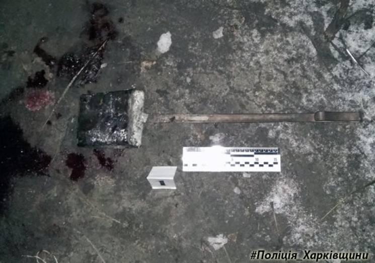ВХарьковской области преступник убил трубой мужчину и забрал 23 тыс. грн