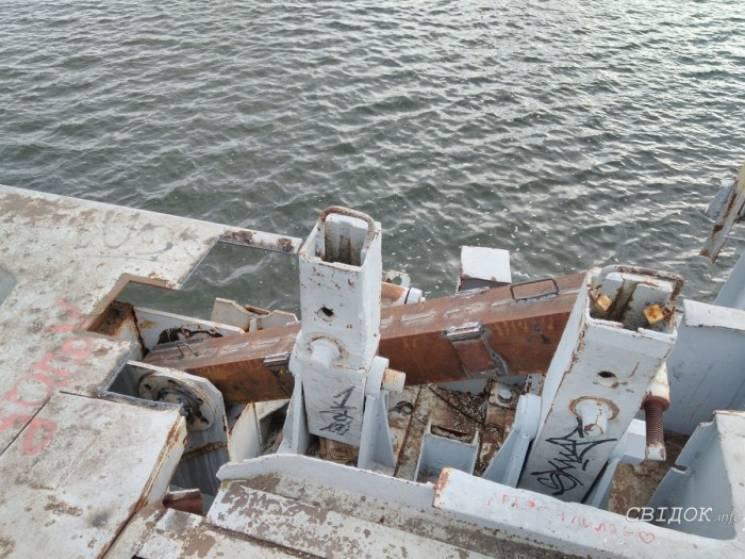 Ремонтники розповіли, чому міст через Інгул буде зручнішим для пішоходів