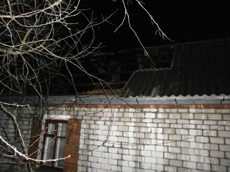 На Полтавщині у Гребінці ліквідували пожежу в житловому будинку