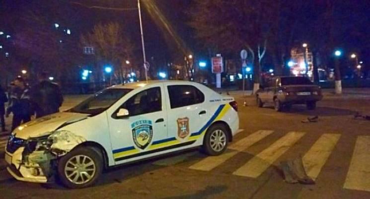 У Кременчуці сталася ДТП за участі автівки охоронної фірми