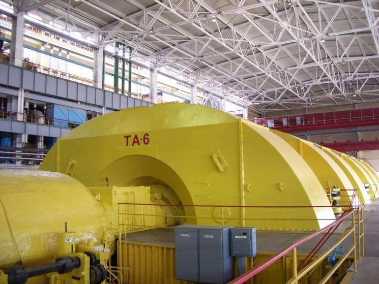 На Запорізькій АЕС закінчили ремонт шостого енергоблоку