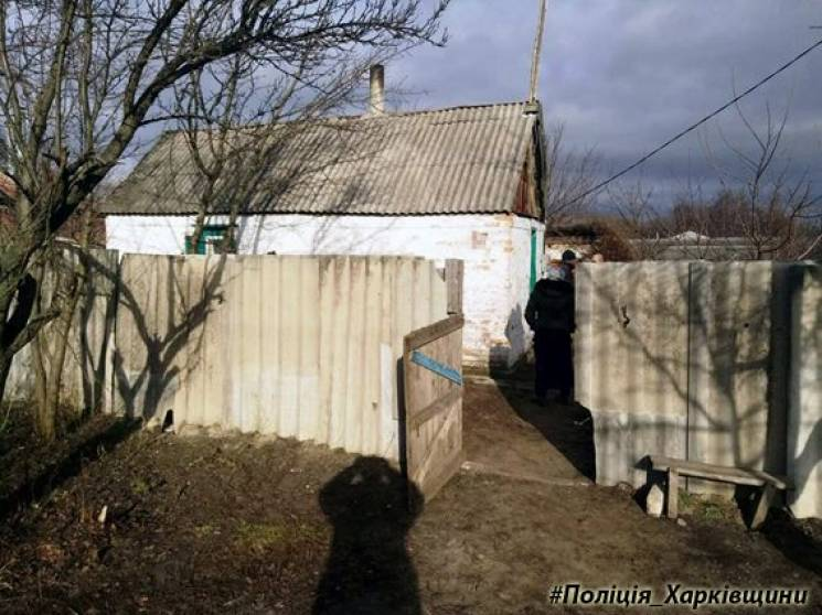 На Харківщині затримали чоловіка, який скривдив пенсіонерку (ФОТО)