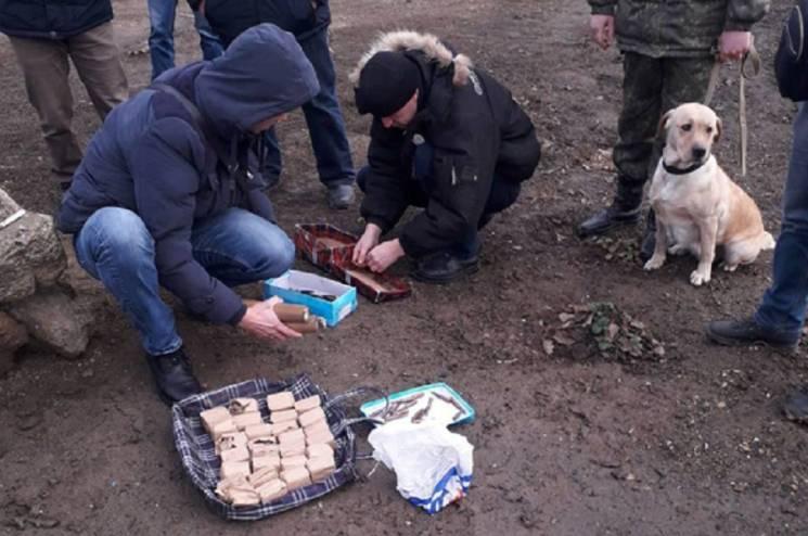 На Миколаївщині в АТОвця знайшли схованку з боєприпасами (ФОТО)
