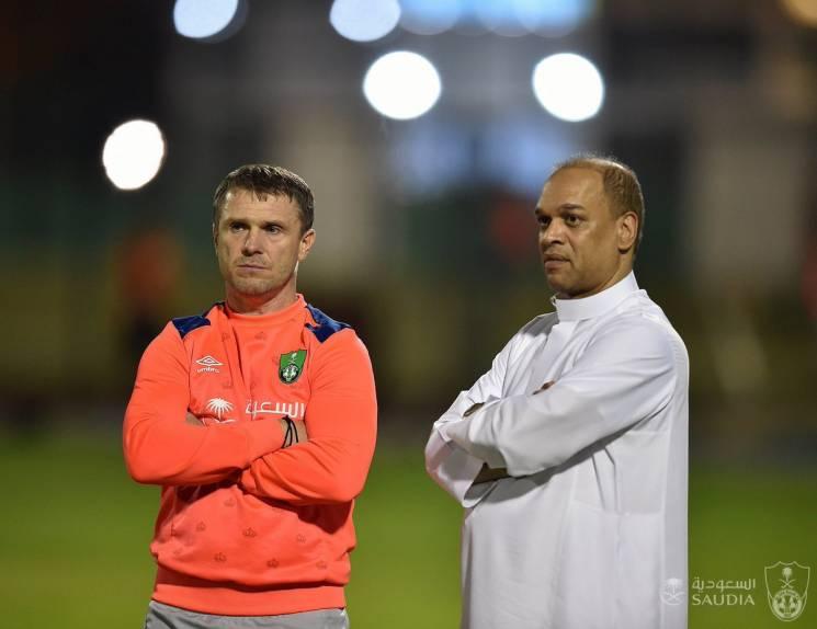 Команда Реброва грає історичний футбольний матч для Саудівської Аравії (ФОТО)