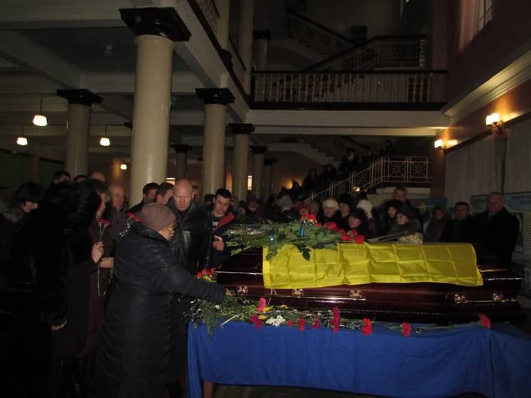 На Житомирщині поховали бійця, який загинув понад три роки тому