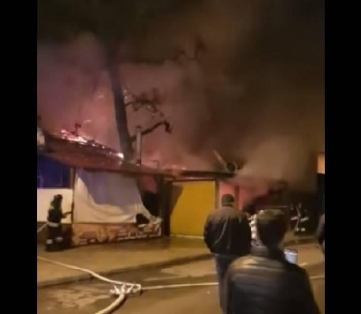 """В Сочи сгорело кафе """"Огонек"""" (ФОТО)…"""
