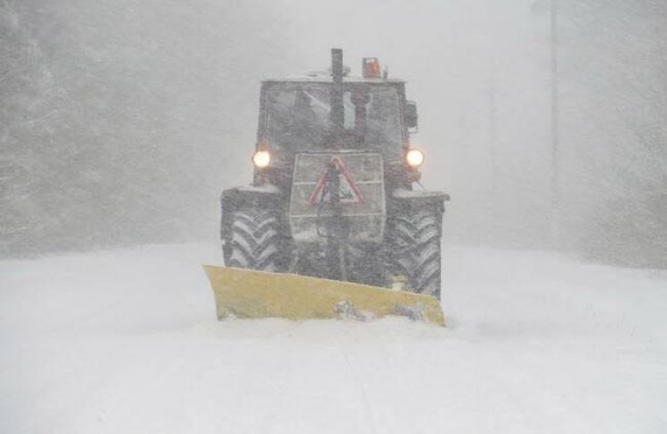 ВОдесской области сильные снегопады на100% обесточили Измаил