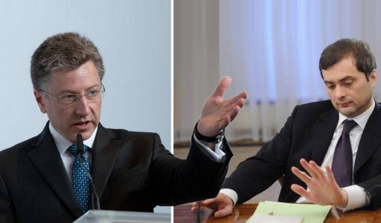 Закручування гайок: Що отримає Україна від зустрічі Волкера із Сурковим